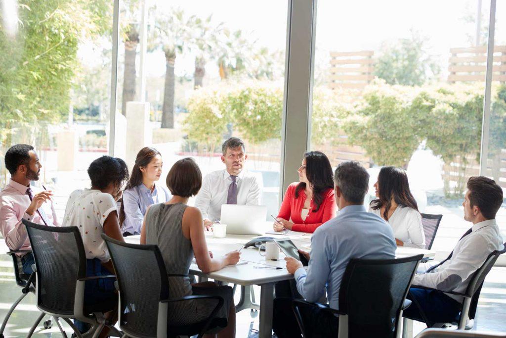 reunion de travail